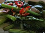 Thai Sauteed Greens With Chili and Garlic