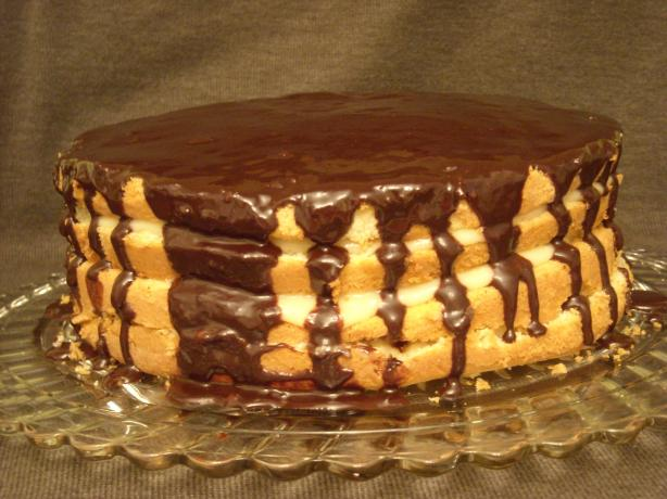 Boston Cream Pie. Photo by mums the word