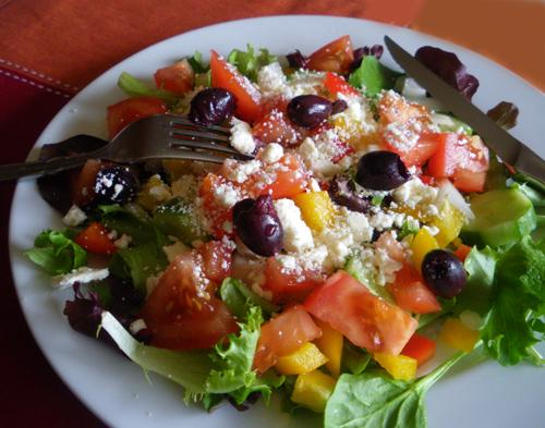 My Big Fat Greek Salad. Photo by Bergy