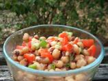 Quick and Easy Black Eyed Pea Salad