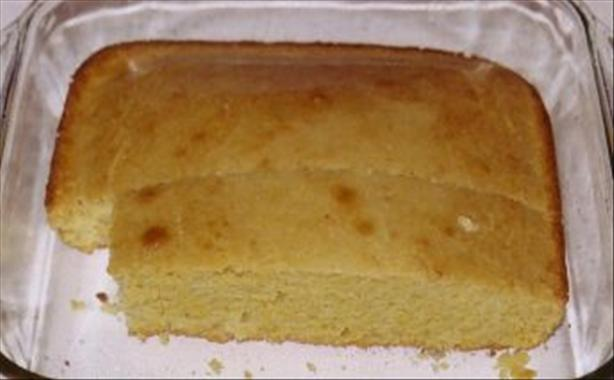 Marie Callender's Famous Golden Cornbread (copycat!) and Honey B. Photo by Kree