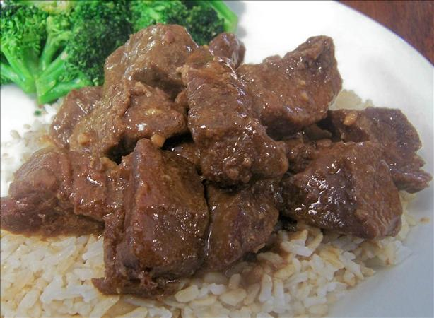 Crock Pot Teriyaki Steak. Photo by *Parsley*