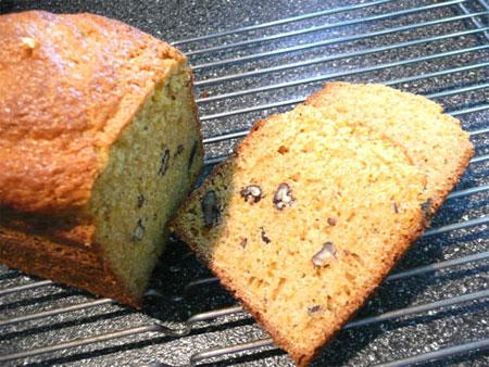 Gluten Free Orange Walnut Bread. Photo by Mikekey