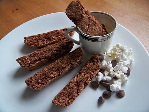 Chocolate Popcorn Biscotti. Photo by Prose