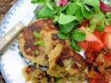 Monday Supper!  Curried Lamb and Chutney Rissoles/Patties