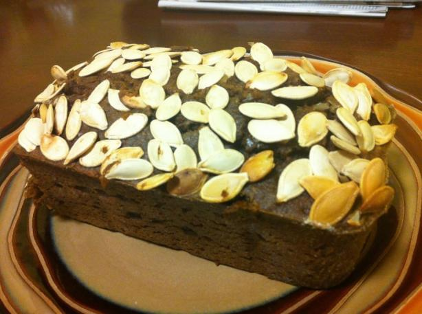 Starbucks Pumpkin Bread. Photo by leilameila