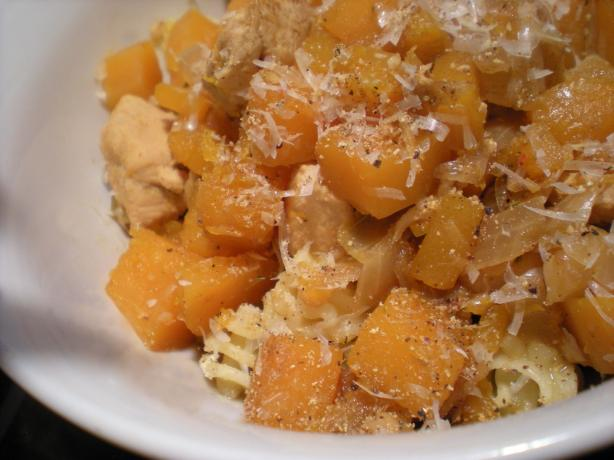 Chicken With Butternut Squash. Photo by Mama&#39;s Kitchen (Hope)