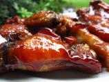 Caramelized Baked Chicken Party Wings