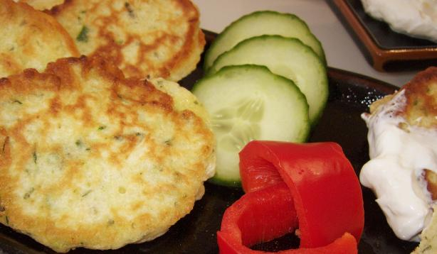 Zucchini Fritters. Photo by Elly in Canada