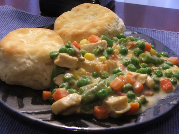Inside-Out Chicken Pot Pie. Photo by Banriona