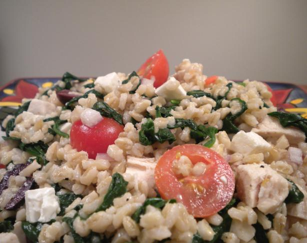 Mediterranean Barley Salad. Photo by Diet It Up