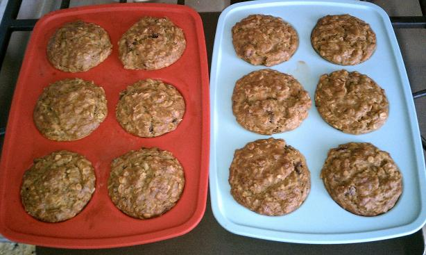 Healthy Banana Muffins. Photo by Noodles