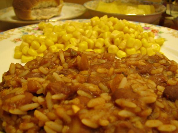 Pinto Beans and Rice in a Crock Pot (Or on Stove Top). Photo by vigilant20