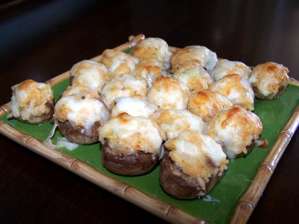 Crab or Shrimp Stuffed Mushrooms. Photo by Rita~
