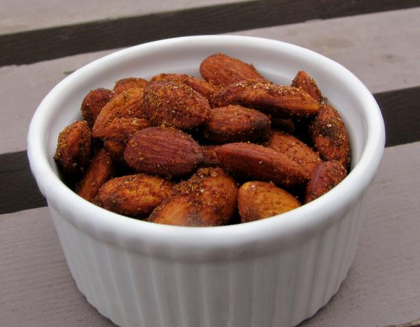 Spanish Spiced Almonds. Photo by lazyme