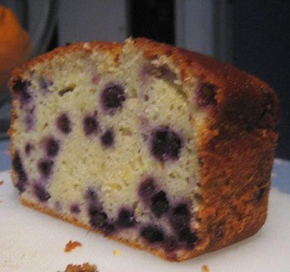 Blueberry Yogurt Cake With Lemon Glaze. Photo by BB2011