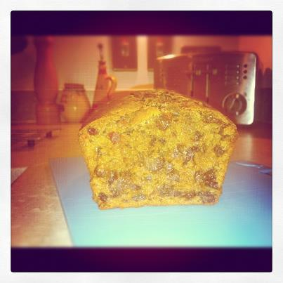 Yorkshire Tea Loaf With Mixed Spice, Cherries and Raisins. Photo by Jobojehster