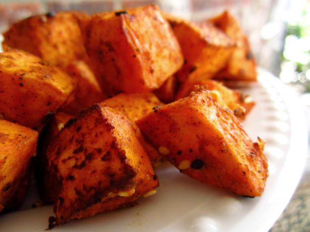 Tasty Tandoori  Sweet Potatoes. Photo by gailanng