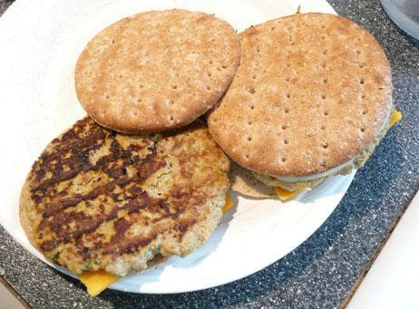 Turkey Pumpkin Burger. Photo by Mikekey