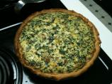 Spinach Ricotta Mushroom Quiche (Lighter)