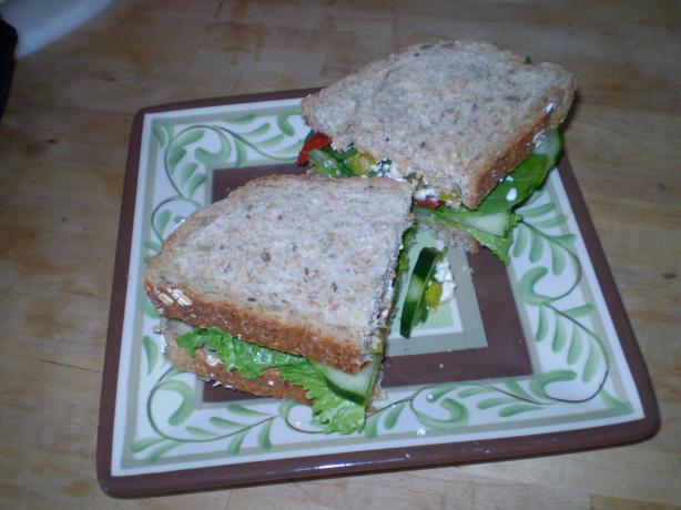 Mediterranean Veggie Sandwich. Photo by nanner18411