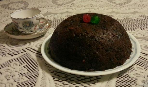 Christmas Plum Pudding. Photo by H A Sallehs