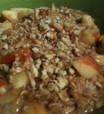 Spiced Apple Oatmeal. Photo by Greeny4444