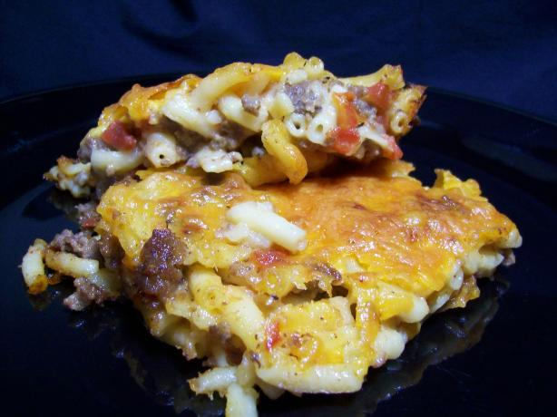 Spicy Macaroni and Cheese Casserole. Photo by Chef shapeweaver ©