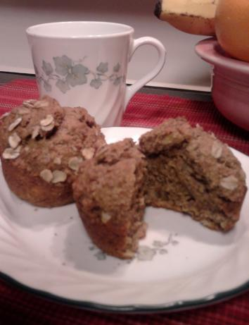 Whole Wheat Banana Muffins (Healthy!). Photo by Chef #1401315