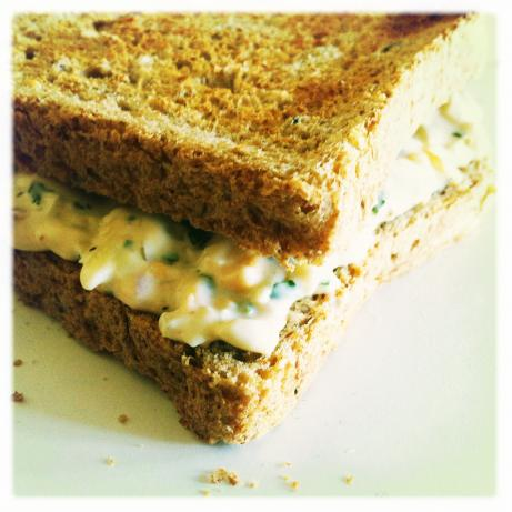 British-Style Cheese and Onion Sandwich for 2. Photo by gilhoo