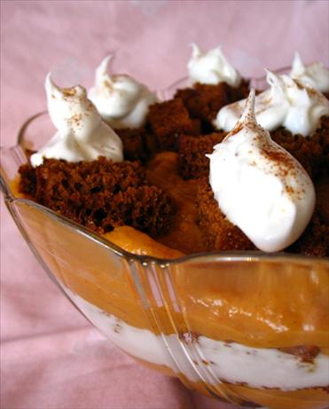 Pumpkin Trifle. Photo by ILuvRecipes