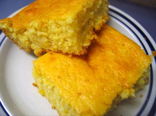 Cornbread With Corn Casserole. Photo by Juju Bee