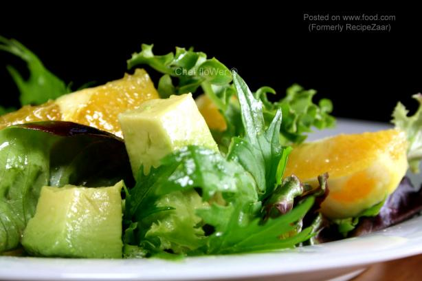 Avocado-Orange Salad (For Two). Photo by Chef floWer