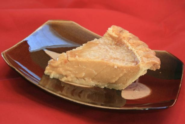 Tarte Au Sucre Francaise (French Canadian Sugar Pie). Photo by ScrappieDoo