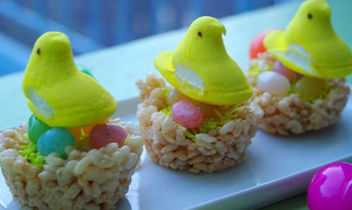 Easter Egg Nest Treats. Photo by Redsie