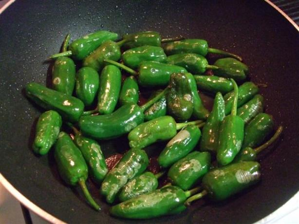 Noelia's Original Spanish Recipe for Padron Peppers. Photo by kiwidutch