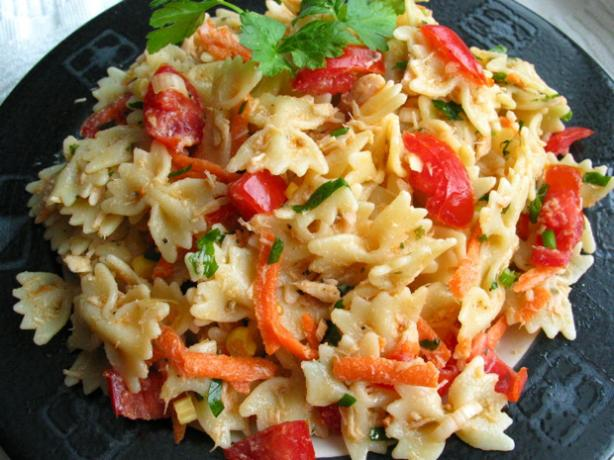Healthy Tuna & Pasta Salad. Photo by flower7