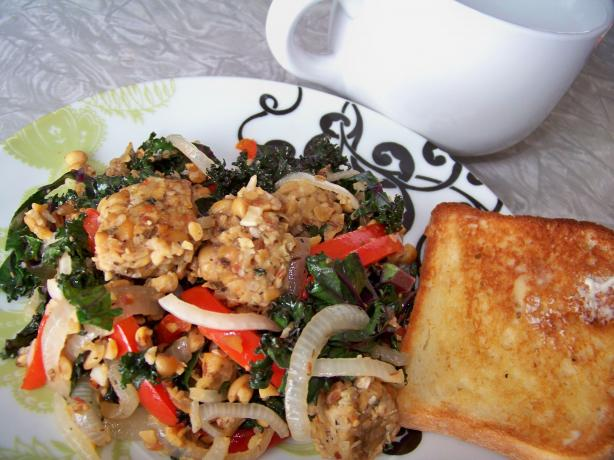 Basic Scrambled Tempeh. Photo by Prose