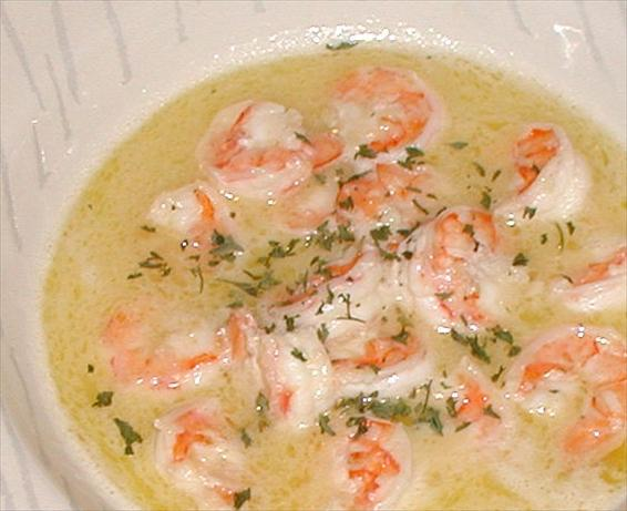 Another Shrimp Scampi. Photo by Sandi (From CA)