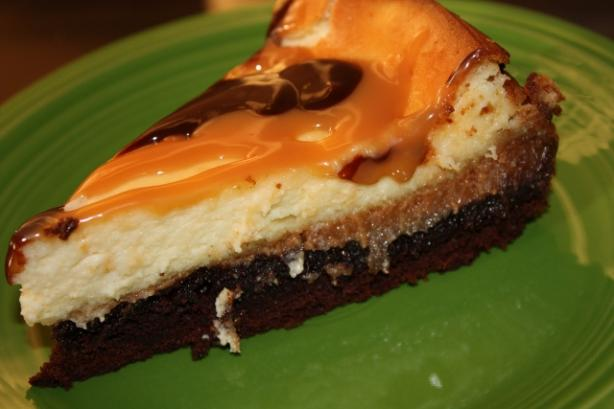 Brownie Caramel Cheesecake. Photo by ~Nimz~