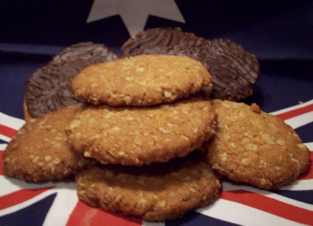 Anzac Biscuits (Cookies). Photo by Tisme