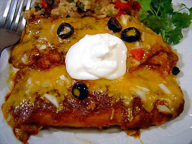 Texas Red Enchilada Sauce. Photo by :(