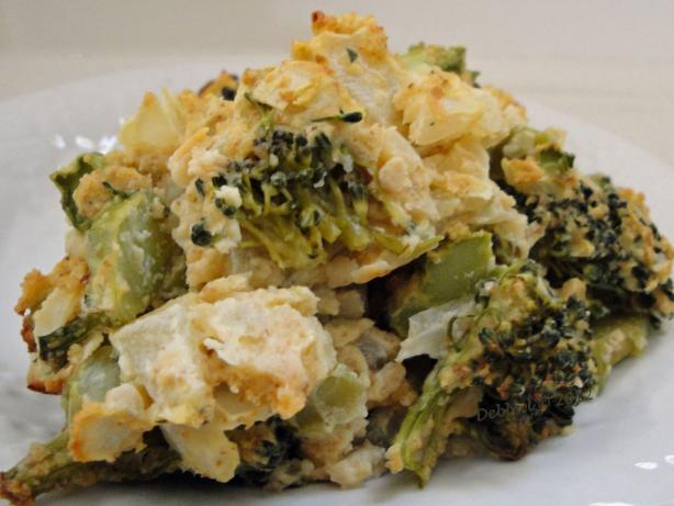 Broccoli Kugel. Photo by Debbwl