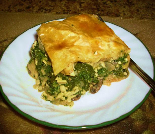 Chef Joey's Spanakopita Casserole (Dairy Free). Photo by Chef Joey Z.