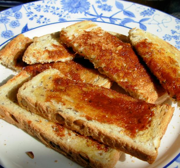 Marmite on Toast - a Veritable British Classic!
