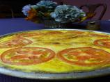 Corn Quiche in a Tef Crust
