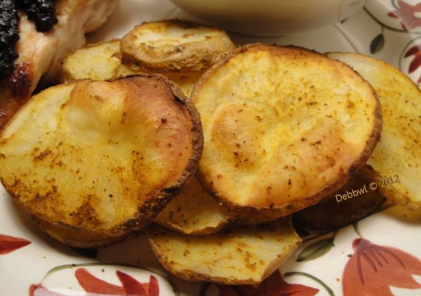 Bengali-Style Oven-Fried Potatoes. Photo by Debbwl