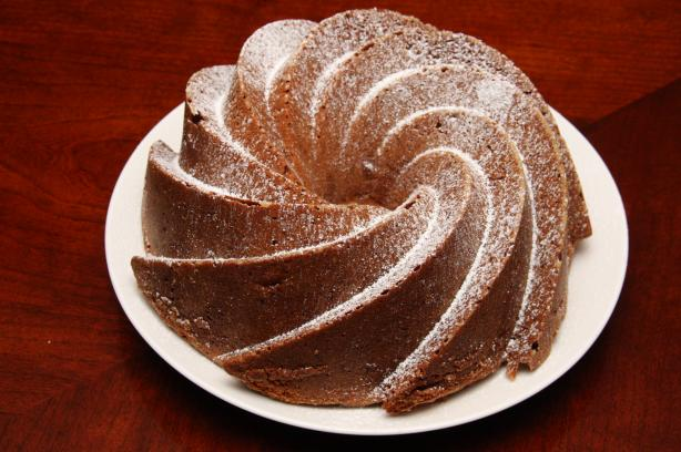 German Apple Walnut Bundt Cake. Photo by Dr. Jenny