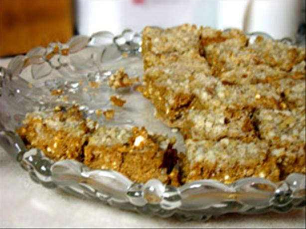 Pumpkin Cheesecake Bars. Photo by iondi2