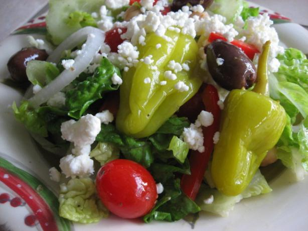 Quick and Easy Greek Salad. Photo by FloridaNative